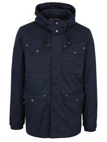 Tmavě modrá bunda s odnímatelnou kapucí Casual Friday by Blend