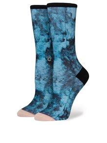 Șosete albastre cu print abstract pentru femei - Stance Collapsar