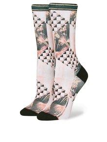 Světle růžové dámské vzorované ponožky Stance Altitude