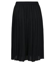 Černá plisovaná sukně VERO MODA Swing