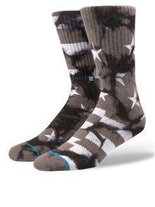 Tmavosivé pánske vzorované ponožky Stance Victory