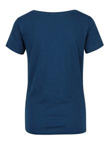 Tmavomodré tričko s potlačou Jacqueline de Yong Chicago