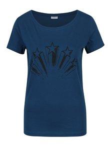 Tmavě modré tričko s potiskem Jacqueline de Yong Chicago