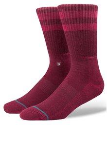 Vínové pánske ponožky Stance Joven