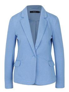 Světle modré sako s kapsami VERO MODA Julia