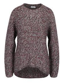 Pulover bordo tricotat - Jacqueline de Yong Kendra