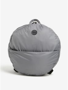 Sivý okrúhly batoh Enter Circular Tote 16 l
