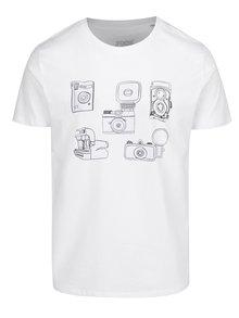 Bílé pánské tričko s potiskem ZOOT Original Foťáky