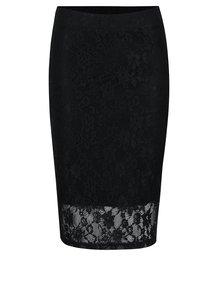 Černá krajková pouzdrová sukně Jacqueline de Yong Fabia