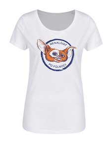 Bílé dámské tričko s potiskem ZOOT Original Nenalívat