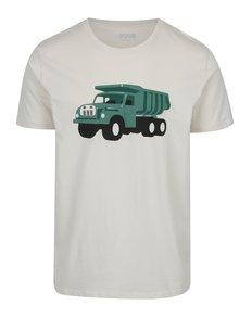 Krémové pánské tričko s potiskem ZOOT Original Tatra
