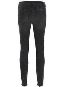 Tmavě šedé skinny džíny VERO MODA Seven