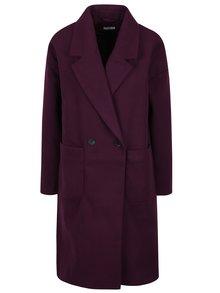 Palton mov lung pentru femei - Yong Kelly