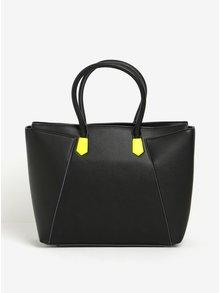 Černá kabelka s neonovými detaily Paul's Boutique Abigail