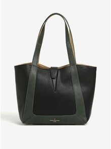 Zeleno-černá kabelka s vnitřkem ve zlaté barvě Paul's Boutique Ria