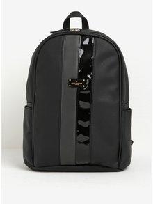 Černý batoh se zapínáním na zip ve zlaté barvě Paul's Boutique Rosa