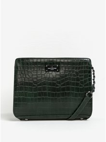 Geantă crossbody verde închis cu model șarpe Paul's Boutique Julia