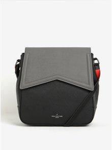 Černo-šedá kabelka/batoh 2v1 s neonovými detaily Paul's Boutique Zena
