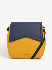 Žluto-modrá kabelka/batoh 2v1 s červenými detaily Paul's Boutique Zena