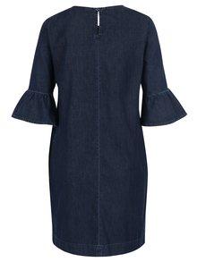 Tmavě modré džínové šaty Miss Selfridge
