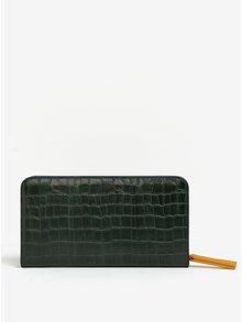 Tmavozelená peňaženka s hadím vzorom Paul's Boutique Carla