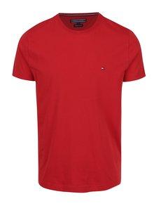 Červené pánské triko Tommy Hilfiger Flag