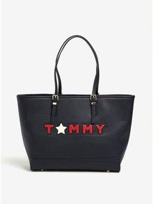 Tmavomodrý shopper Tommy Hilfiger Honey