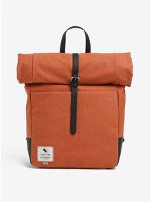 Čierno-oranžový batoh Clarks The Millbank 16,9 l