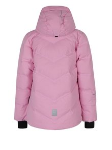 Růžová holčičí funkční péřová prošívaná bunda Reima Waken