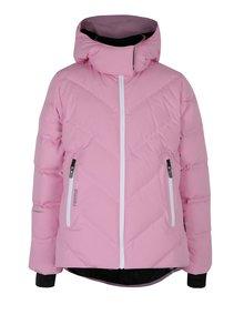 Ružová dievčenská funkčná páperová prešívaná bunda Reima Waken