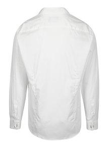 Biela formálna slim fit košeľa Braiconf Iacob