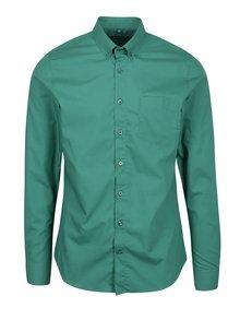Zelená formální super slim fit košile Braiconf Baltazar