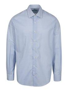 Modrá vzorovaná formální regular fit košile Braiconf Nicoara