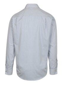 Modro-bílá formální pruhovaná regular fit košile Braiconf Nicu