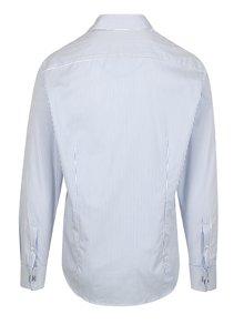 Modro-bílá pruhovaná formální slim fit košile Braiconf Nicu