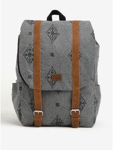 Sivý dámsky vzorovaný batoh Roxy Another Dream 17 l