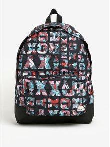 Černý dámský vzorovaný batoh Roxy Sugar Baby 16 l