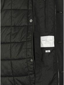 Čierna pánska bunda Selected Homme Gregory