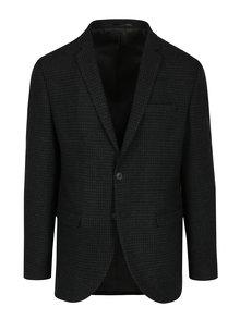 Tmavě modré vlněné oblekové sako Selected Homme One-Mylo