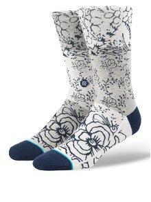 Sivé pánske kvetované ponožky Stance Floridian