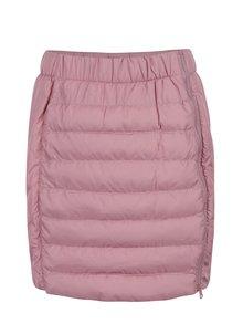 Ružová zimná vodu odpudzujúca prešívaná sukňa LOAP Izi