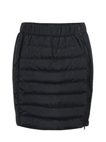 Čierna zimná vodu odpudzujúca prešívaná sukňa LOAP Izi