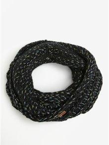 Esarfa neagra circulara pentru femei - Roxy Nola