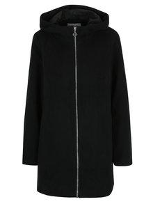 Černý kabát s kapucí VILA Daniella