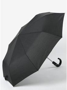Černý pánský skládací vystřelovací deštník RAINY SEASONS Crook