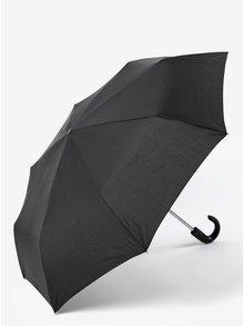 Černý pánský skládací deštník RAINY SEASONS Gent