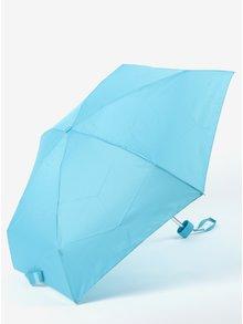 Modrý dámský skládací deštník RAINY SEASONS Flat Plain