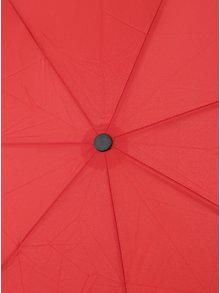 Červený dámský skládací vystřelovací deštník RAINY SEASONS Moon