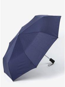Modrý dámsky skladací vystreľovací dáždnik RAINY SEASONS Moon