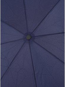 Modrý dámský skládací vystřelovací deštník RAINY SEASONS Moon